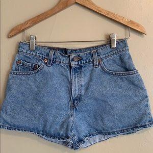Levi's | 511 High Rise Denim Shorts | 4